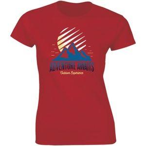 Adventure Awaits Outdoor Experience T-shirt Tees